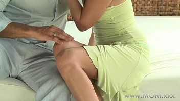 Mamma milf receives stuffed in the new air
